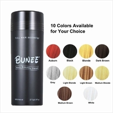 BUNEE Hair Building Fibers 27.5g Hair Thickening Powder Instant Thickening 100