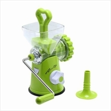 MULTIPURPOSE MANUAL MEAT MINCER SAUSAGE STUFFER (GREEN)