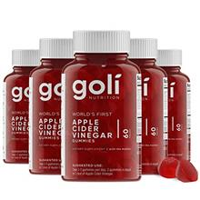 World's First Apple Cider Vinegar Gummy Vitamins by Goli Nutrition - Immunity,