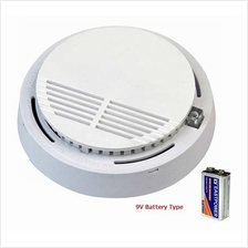 9V Smoke Alarm / Smoke Sensor (Include Battery)