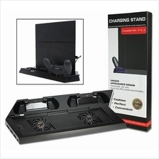 KHPS4-02 Dual Cooling Fan Charging Stand For PS4 Controller