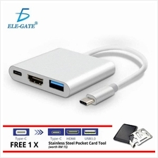 Type C To 4K HDMI USB 3.0 Charging HUB Adapter USB-C 3.1 Converter