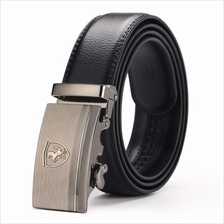 DOULILU Men Leather Automatic Buckle Waist Belt Tali Pinggang 261
