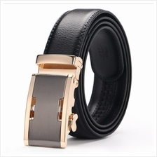 DOULILU Men Leather Automatic Buckle Waist Belt Tali Pinggang 262
