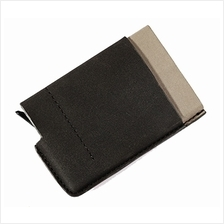 RFID Ridge Soft Touch Popular Metal Money Clip Aluminium Wallet Card Holder Ca