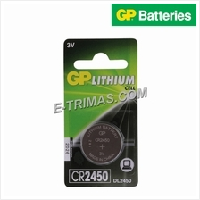 5PCS GP CR2450 Electronic Devices Lithium Coin Cell Battery