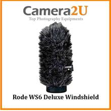 Rode WS6 Deluxe Windshield for the NTG2, NTG1, NTG4, and NTG4+ Mic