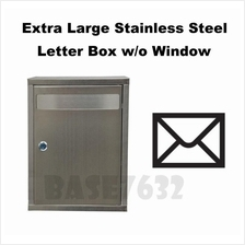 Extra Large Stainless Steel Letter Letters Mail Pos Box 2346.1