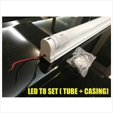 LED T8 TUBE LIGHT LAMP DAYLIGHT 6000K 2FT 4FT WITH SLIM FITTING