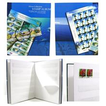Stamp Collection Album Silver Edition