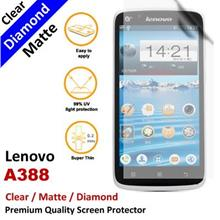 Premium Diamond Matte Clear LCD Film Screen Protector Lenovo A388