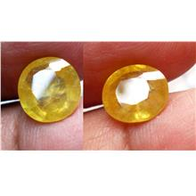 NATURAL AFRICAN YELLOW  SAPPHIRE