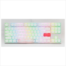 # DUCKY One 2 RGB TKL White Mechanical Keyboard # 6 Switch Available