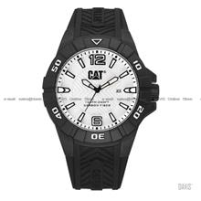 Caterpillar CAT Watches K1.121.21.231 KARBON Silicone Silver Black