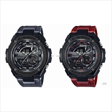 CASIO GST-210M G-SHOCK ana-digi steel guard marbled pattern resin
