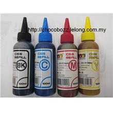 GOA UNIVERSAL CISS INK REFILL 100ML BOTTLE 1 SET