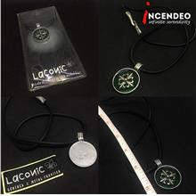 **incendeo** - Laconic Clover Pewter Necklace