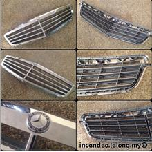 **incendeo** - Original Mercedes Benz C Class Front Radiator Grille