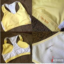 **incendeo** - REEBOK Yellow Padded Sport Bra