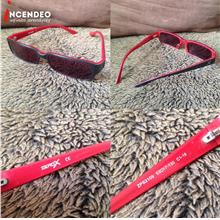 **incendeo** - ZEROX Red Stylish Eyewear