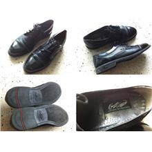 **Incendeo** - Crocodile Black Genuine Leather Shoe for Mens