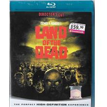English Movie Land of The Dead Bluray Director's Cut 2005 Film