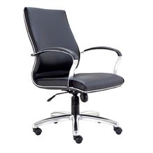Executive Medium Back Office PU Leather Chair - PROVE E2572H
