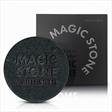 April Skin Magic Stone 100% Natural Cleansing Soap - Black