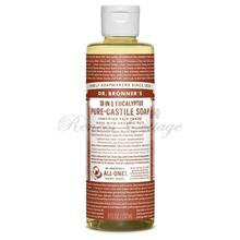 Dr.Bronner's Magic Soaps, Eucalyptus Liquid Castile Soap (237ml, 473m)