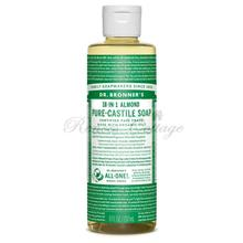 Dr. Bronner's Magic Soaps, Almond Liquid Castile Soap (237m, 473mll)
