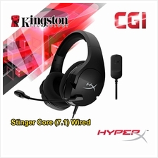 Kingston HyperX Cloud Stinger Core 7.1 Wired Gaming Headset - HHSS1C-AA-BK/G