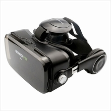 VR Box 3d Glasses Virtual Reality Goggles With Headset For 4.3-6.0inch