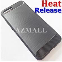 (Heat Release) Carbon Fiber TPU Case Cover Huawei Honor View 10 V10