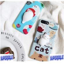 Cat Seal Cutest Stress Relief Animal Case Casing Cover iPhone 6/6 Plus