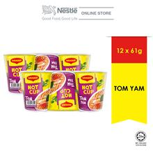 MAGGI Hot Cup Tom Yam 6 Cups 61g x 2 (Exp: OCT 2020)