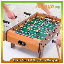 "20 "" Wooden Foosball Soccer Table Football Game Arcade Room Desk Playfiel"