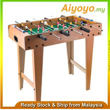 "27 "" Wooden Foosball Soccer Table Football Game Arcade Room Desk Playfiel"