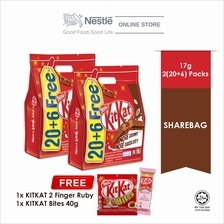 Nestle KITKAT 2F Chocolate Pack 20+6 Bundle