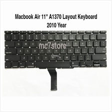 Replacement Apple Macbook Air 11' A1370 US Layout Keyboard 2010 year