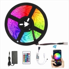 5M Smart Light Strips WIFI Control Color Changing LED 5050 RGB Compatible with