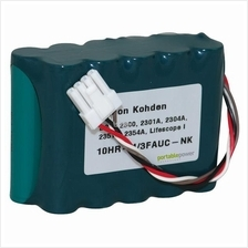 Medical battery for Nihon Kohden 10HR-4/3FAUC-NK BSM2300 -12V -4.0Ah