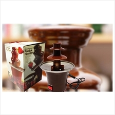 Elegant Mini 3-Tier Chocolate  Fondue Fountain for Chocolate Lovers