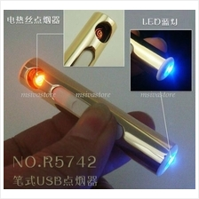 No Fuel,No Gas,No Flame,Eco Friendly , Windproof USB Lighter