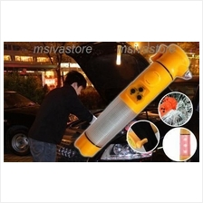 New Version: 6in1 Multifunctional Emergency Life Hammer with Siren