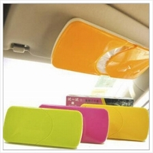 Slim and Sturdy Car Sun Visor Tissue Box/Holder/Handy Dispenser