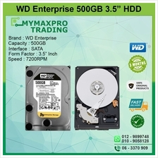 Western Digital WD Enterprise 500GB 3.5 SATA 7200RPM WD5002ABYS