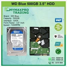 Western Digital WD Blue 500GB 3.5 SATA 7500RPM WD500AAKX