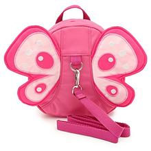 Hipiwe Butterfly Baby Walking Safety Backpack Anti-Lost Mini Bag Toddler Child