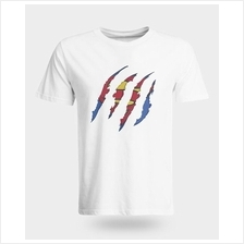 Man of Steel Ripped T-shirt