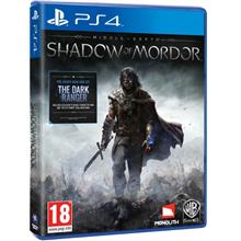 PS4 Shadow Of Mordor Middle Earth Disc